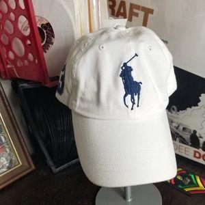 Polo Ralph Lauren Big Pony Strapback Hat NWT
